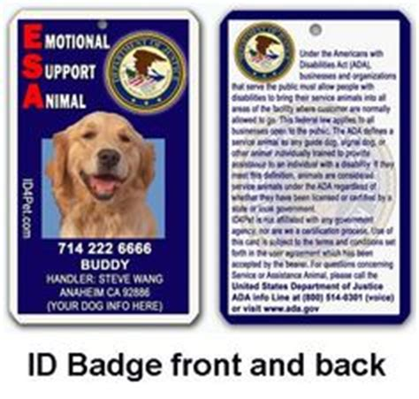 1000 Images About Emotional Support Dog On Pinterest Emotional Support Animal Service Dogs Emotional Support Id Template