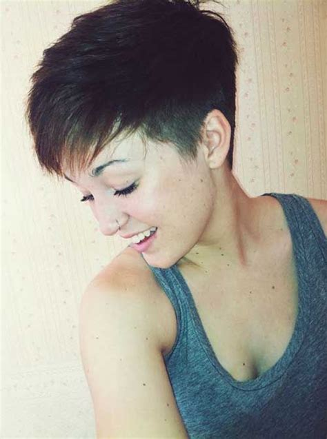 when to cut hair for thickness best 25 pixie hairstyles for thick hair undercut ideas