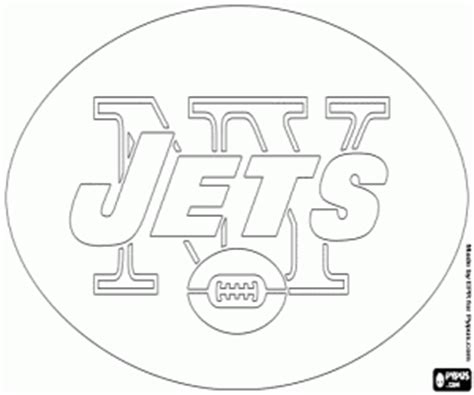 jets football coloring pages nfl logos coloring pages printable games 2