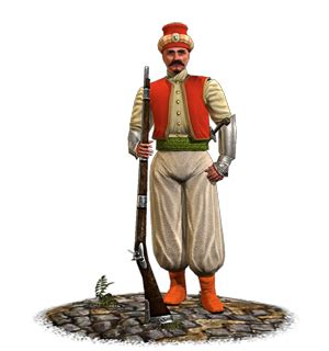 elite ottoman soldiers cairo janissaries etw unit total war wiki