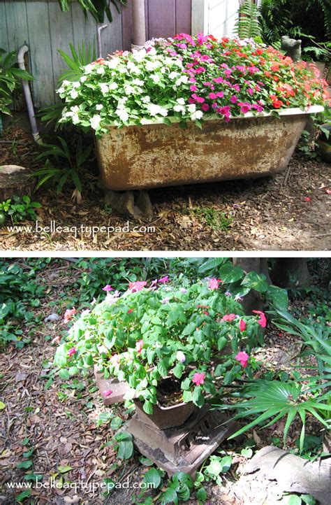 Creative Garden Planters by Inspiration Thrifty Creative Garden Planters And