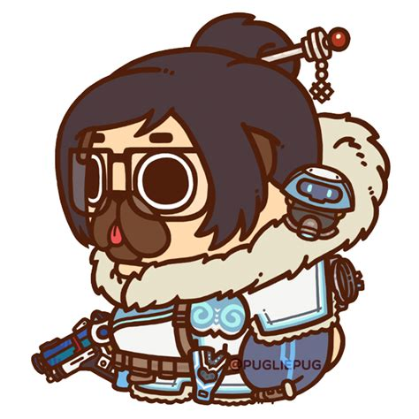 pug overwatch puglie pug our world is worth fighting for