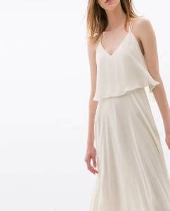 Dress Aleda Maxi Cotton Zara Import zara bnwt white maxi dress with straps
