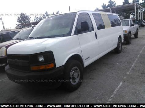 car owners manuals for sale 2005 chevrolet express 3500 on board diagnostic system used 2005 chevrolet express 3500 car for sale at auctionexport