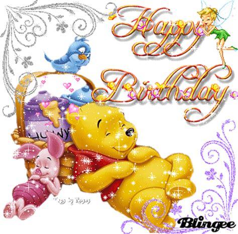 imagenes de winnie de pooh con movimiento happy birthday picture 80634880 blingee com