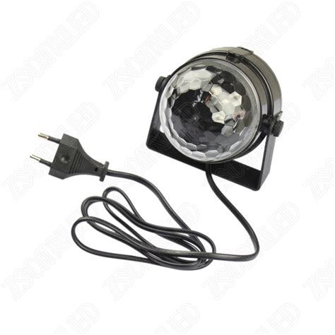 disco lights that react to music 3w crystal ball rgb led stage effect lighting show disco
