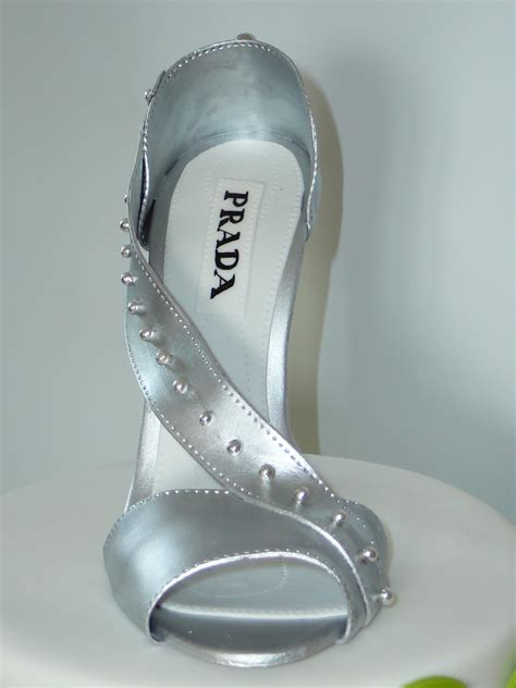 silver high heel shoe silver high heel shoe cakecentral