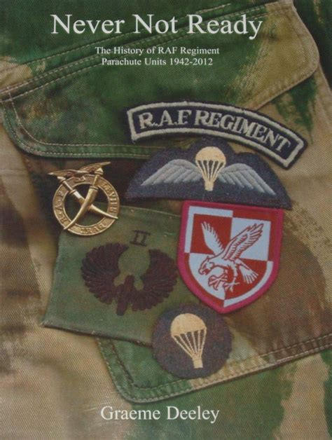 Never Not by Never Not Ready The History Of Raf Regiment Parachute