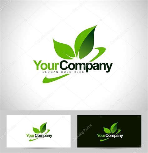 imagenes logos verdes logotipo de hoja verde vector de stock 169 twindesigner