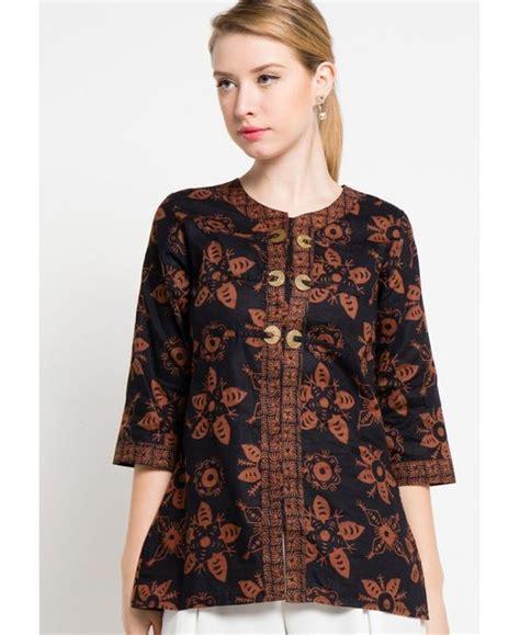 Baju Atasan Wanita Blouse Batik Sita Tunik 5 45 model baju batik atasan wanita terbaru 2018