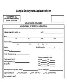basic employment application template free doc 400518 basic employment application