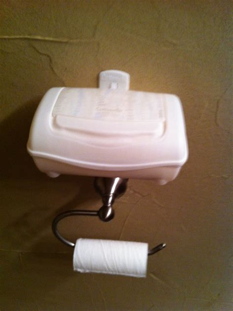 cottonelle flushable wipes holder great for little boys