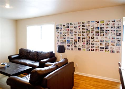 photo wall easy and cheap diy photo wall