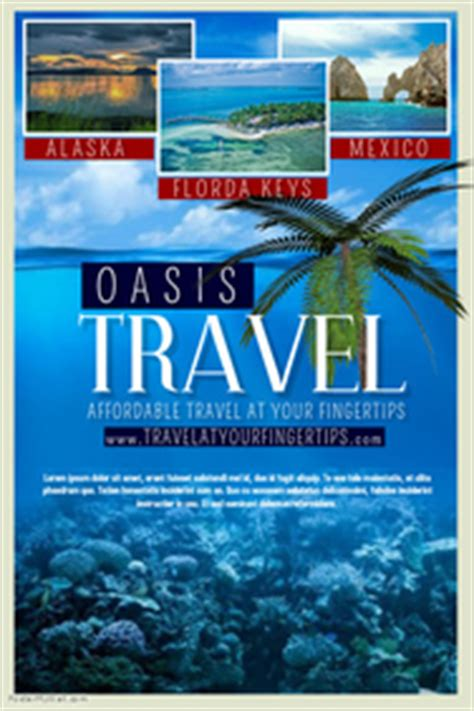 travel agency poster template travel poster templates postermywall