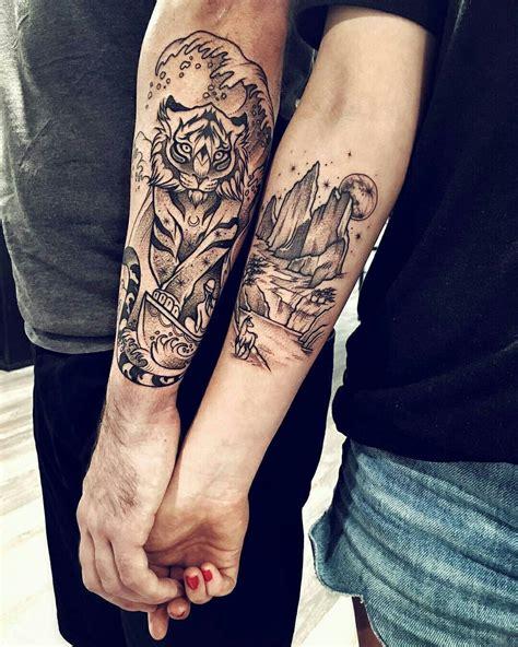 tiger tattoo on forearm done by kiseleva bambamsi tattoos