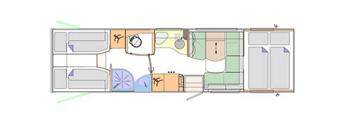Winnebago Via Floor Plans by 27 Simple Motorhome Designs Layouts Ruparfum Com