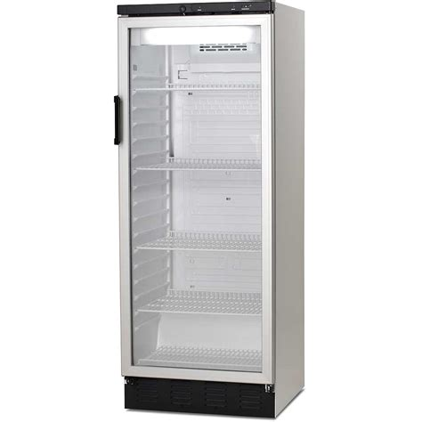 upright glass door commercial refrigerator vestfrost