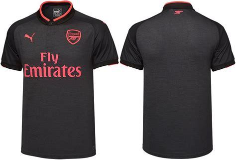 Kaos Arsenal Year Exclusive Black arsenal jersey black and pink 2017