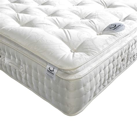 Bed Pillow Tops | happy beds signature 2000 natural pocket sprung pillowtop