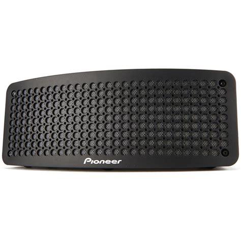 Speaker Bluetooth Pioneer pioneer portable speaker with bluetooth and nfc black electronics zavvi