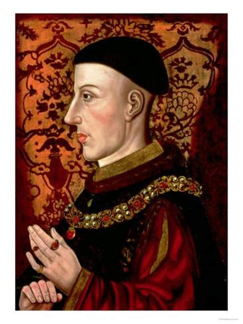 Wall Murals Decals portrait of henry v 1387 1422 giclee print at allposters com
