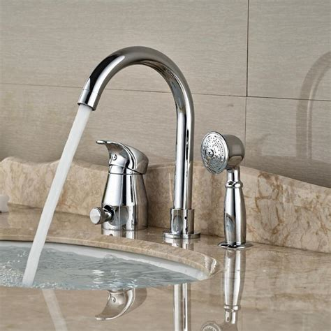 bathroom sink lever taps single lever waterfall basin sink mixer taps deck mounted