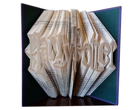 birthday gifts for harry potter fans harry potter folded book gift for harry potter by