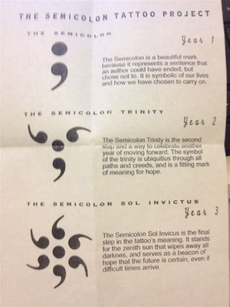 what do semicolon tattoos mean semicolon project semicolon project