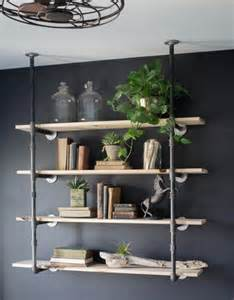 Plumbing Pipe Bookcase Diy Open Pipe Shelving Magnolia Market