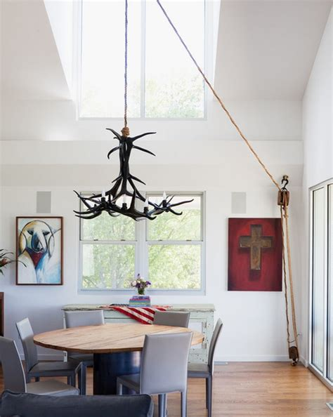how to swag a chandelier ingenious ways to add a pulley system to your home d 233 cor