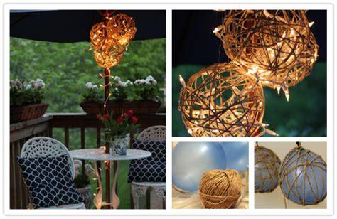 how to make diy twine garden lanterns how to