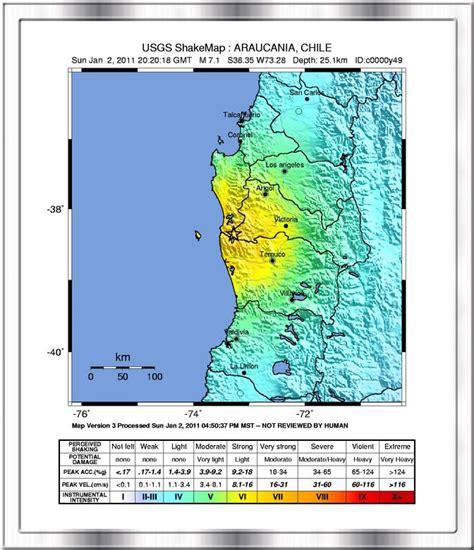 earthquake pdf 1960 chile earthquake map