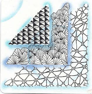 tinker tangles playing with paper zendala challenge 17 best images about zentangle triangle shapes on