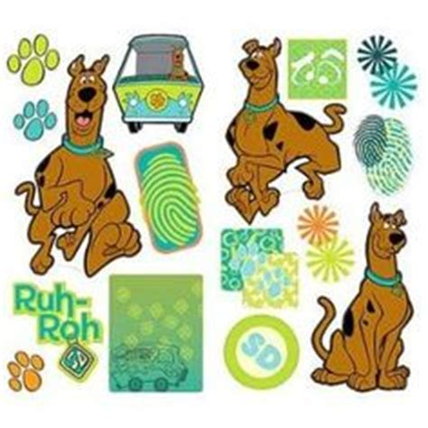 scooby doo wall stickers scooby doo room on scooby doo wall stickers