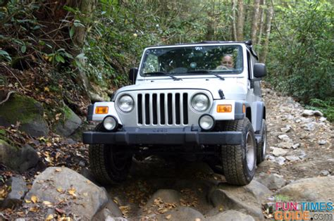 jeep mountain climbing tellico 4x4 offroad photos the day our jeep met the bad