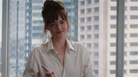 anas bush in 50 shades exclusive fifty shades clip ana makes pancakes today com