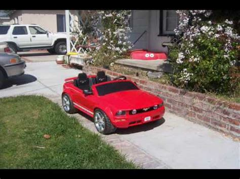 power wheels mustang gt mustang gt power wheels undercover car day