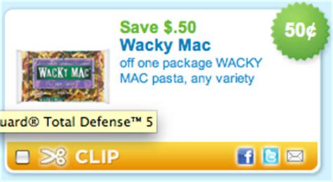 free printable grocery coupons for mac computers wacky mac coupon free wacky mac at many grocery stores