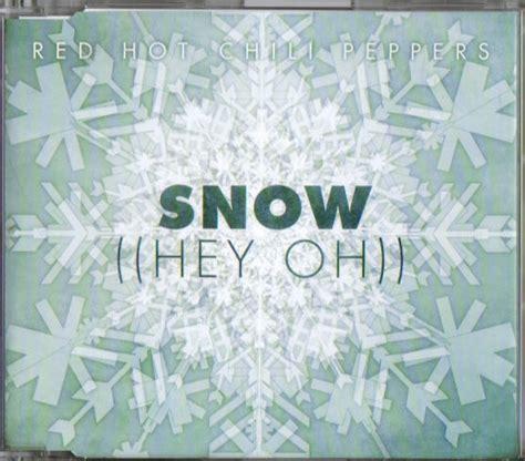 testo e traduzione breakeven significato delle canzoni snow hey oh chili