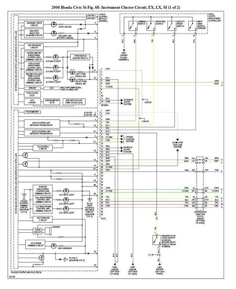 99 civic si fuse panel wiring diagrams wiring diagram