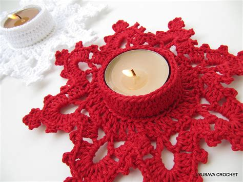 design pattern holder crochet candle holder quot melting snowflake quot turorial crochet