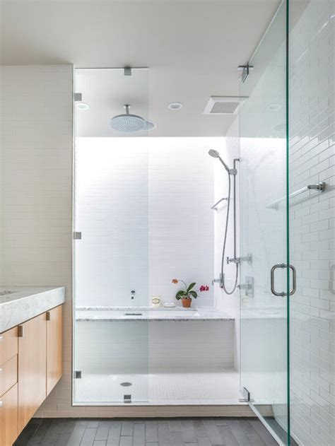 shower and tub combo for small bathrooms small shower sunken tub combo houzz