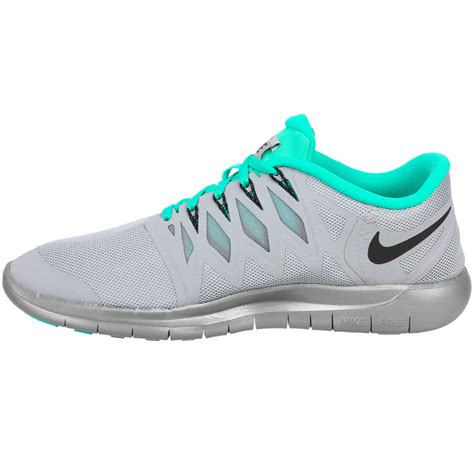 nike free shoes nike free 5 0 flash s shoes silver gray jade