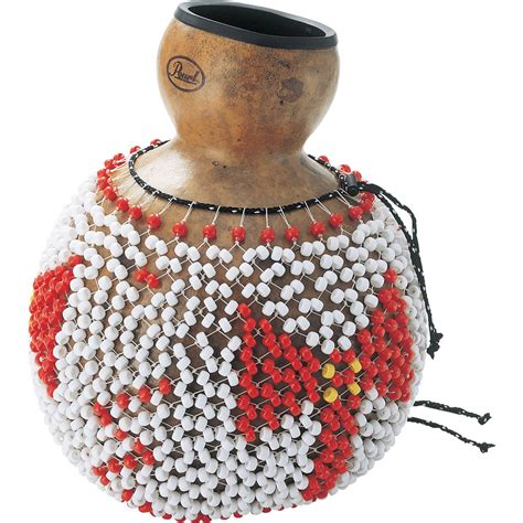 beaded gourd instrument shekere pearl drums