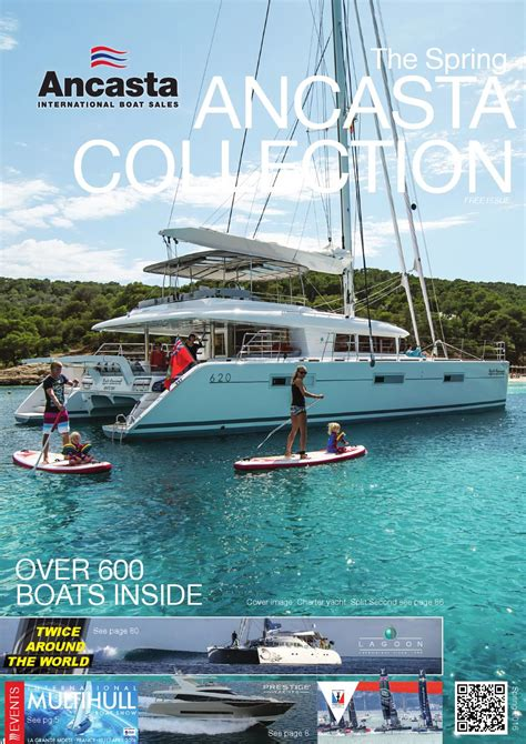 ancasta international boat sales the ancasta 2016 spring collection by ancasta