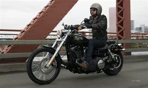 Motorrad Gabel Gestaucht harley davidson dyna wide glide 2015 bike bildergalerie