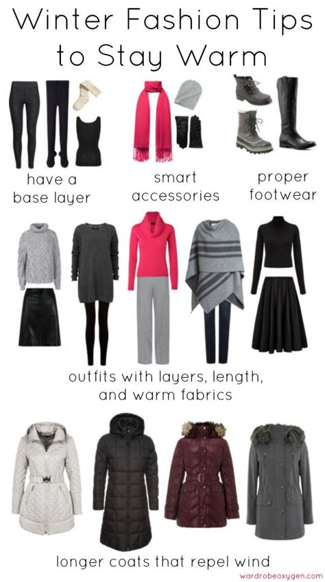 wardrobe tips best 25 cold weather fashion ideas only on pinterest
