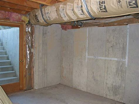 concrete basement walls cutting concrete