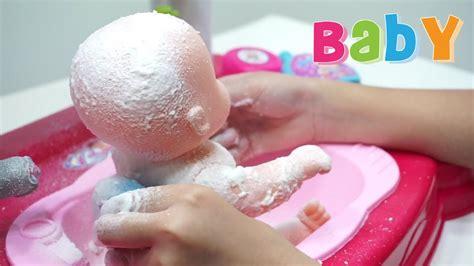 Mainan Boneka Bayi Mandi baby doll bath time mainan anak boneka bayi mandi sabun