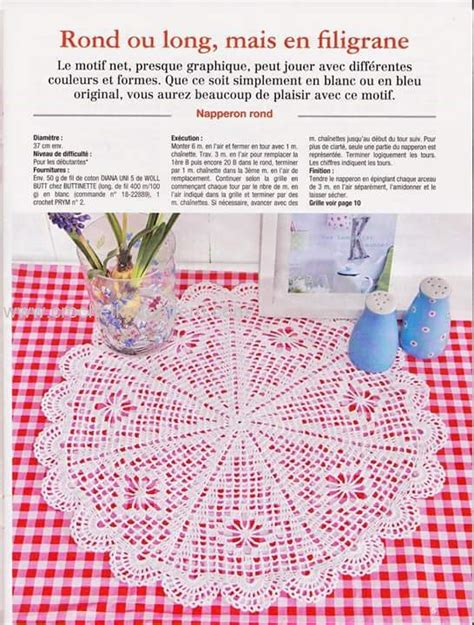 pattern part in french home decor crochet patterns part 6 beautiful crochet